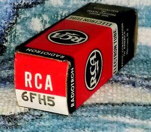 NOS RCA 6FH5 vacuum tube radio TV valve, TESTED