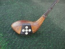 Vintage Wilson Precision Relayed 4250 Fancy Face Brassie Faux Wood Shaft