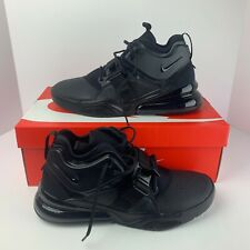 Nike Air Force 270 AF Running Shoes Triple Black Air Max SZ ( AH6772-010 ) NIB!