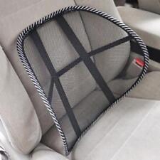 Massage Vent Mesh Lumbar Lower Back Brace Support Car Seat Chair Cushion Pad FW
