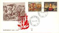 FDC ALA - Italia Repubblica 1970 - Raffaello - Roma - NVG **