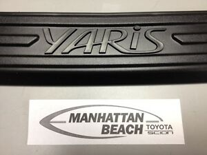 2012-2014 YARIS HATCHBACK (EXCEPT RS) REAR BUMPER PROTECTOR PT278-52120 OEM