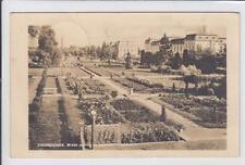 AK Ciechocinek, Hermannsbad, Parkansicht, Foto-AK 1946