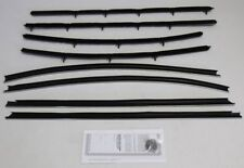 1968 BUICK SKYLARK 2 DOOR HARDTOP WINDOW BELTLINE WEATHERSTRIP KIT, 8 PIECES