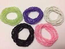 Wholesale! Lot of 60 mix color glass seed beaded Stretch Bracelets multistrand