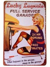 RETRO METAL WALL SIGN TIN VINTAGE FUNNY PLAQUE GARAGE MECHANIC GIFT LOUNGE
