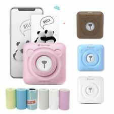 Mini Portable Smart Photo Printer Pocket Wireless Bluetooth F Android/iOs +Paper