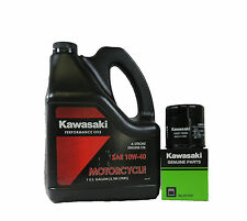 2012 Kawasaki Ninja Zx-6R Gallon Oil Change Kit