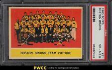 1963 Topps Hockey Boston Bruins #21 PSA 8 NM-MT