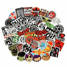 Band Stickers 100PCS Rock and Roll Music Stickers Pack Vinyl Waterproof Stickers