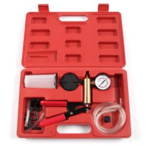 Testeur de vide purgeur de frein coffret pompe à déspression kit purge de frein