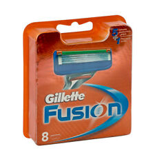 GILLETTE FUSION MANUAL BLADES X 8 (100% GENUINE UK)