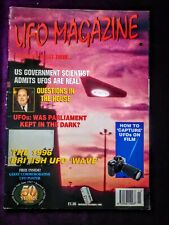 UFO Magazine November 1996 (Top Secret Alien Conspiracies)