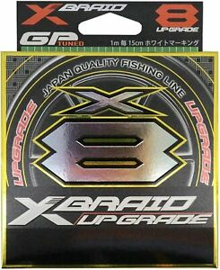 YGK X-braid x8 upgrade, new g-soul, 150m,braided fishing line, fluo yellow
