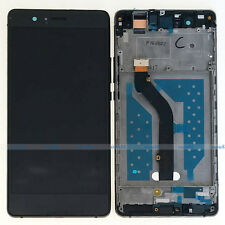 Black Huawei P9 Lite VNS-L21 L22 L23 LCD Display Touch Digitizer Assembly+Frame