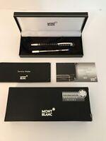Montblanc StarWalker Grid Rubber + Metal Fineliner Pen W/ original Box