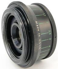 1979! INDUSTAR 50-2 50mm f/3.5 Pancake Lens w/ Adapter Canon EOS EF Mount Camera