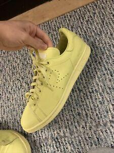 Size 10.5 - adidas Stan Smith x Raf Simons Light Yellow