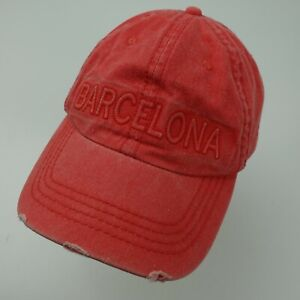 Barcelona Robin Ruth Red Ball Cap Hat Adjustable Baseball Adult