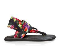 Women Sanuk Yoga Sling 2 Prints Flip Flop Sandal SWS10535 BTAM 100% Authentic