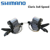 Shimano Claris SL-2400 2403 Bike Shifters 3x8 Speed Shift Levers Left/Right/Pair