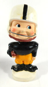 1960's Japan Your Favorite Football Team College Nodder Bobblehead Toes Up
