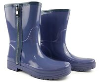 Unlisted A Kenneth Cole Production Zip Rain Resistant Boots Womens 9 M Purple