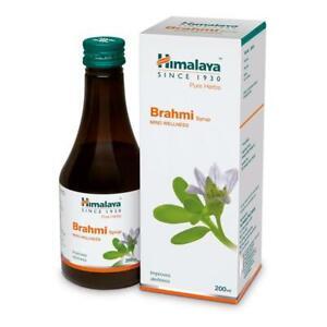 2 Pcs X 200 ML Himalaya Brahmi Syrup helps calm the mind Free Ship