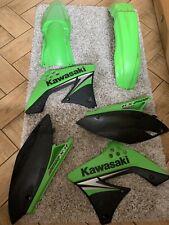 Genuine Kawasaki Kx250f 2009 Plastic Set - No Front Number Board