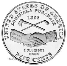 2004 Jefferson Nickel Denver Philadelphia Uncirculated Lewis Clark Peace Medal