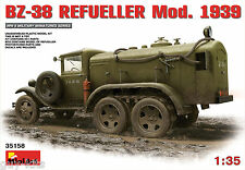 CAMION-CITERNE SOVIETIQUE GAZ BZ-38, Mod. 1939 - KIT MINIART 1/35 n° 35158