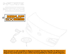 KIA OEM 14-16 Forte Koup Trunk Lid-Emblem Badge Nameplate 86315A7200