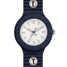Reloj de Mujer HIP HOP CRYSTAL HWU0585 Small 32mm Silicona Azul Swarovski