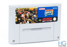 Donkey Kong Land 2: Diddy's Kong Quest-Super Nintendo SNES PAL