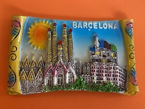 Souvenir Fridge Magnet - Barcelona
