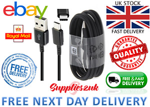 Genuine Samsung Galaxy S8 S9 & S10 Fast Charge Charger USB-C Cable - UK STOCK