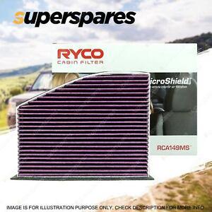 Ryco Cabin Filter for Audi A3 8P S3 8P Q3 8U TT 8J Qt 4Cyl 5Cyl V6 Microshield