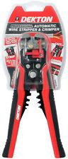 Ajustable Automático cableado cutter/stripper crimping/crimper Alicate Herramienta Pro