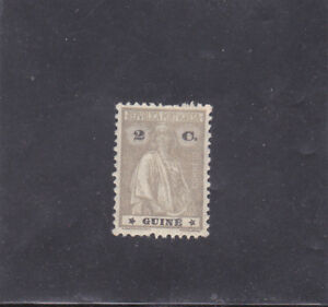 PORTUGUESE GUINEA 2 C. CERES TYPE III - IV (1925)  MH