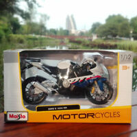 Maisto 1/12 Scale S1000RR Motorcycle Diecast Vehicles Car Race Motor Model