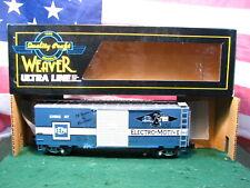 RARE Weaver EMD Electro Motive Division O-Scale Steel Boxcar # 37  NEW in Box