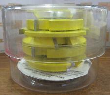 Freeborn PT-19-020 Flooring T-Alloy Shaper Cutter Set 1-1/4-Inch Bore