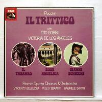 TITO GOBBI, VICTORIA DE LOS ANGELES - PUCCINI il trittico EMI SLS 5066 3xLPs NM