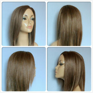 HIGH HEAT RESISTANT LONG SMOOTH LAYERS PART HAIR LADY WOMENS DAILY FULL WIG UK