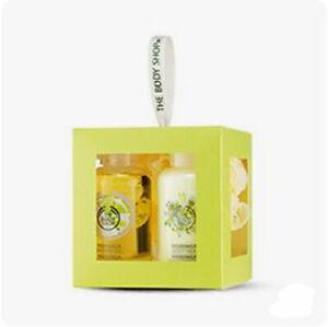The Body Shop MORINGA TREAT Cube Gift Set WOMENS Shower Gel Body Lotion