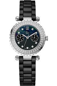 GUESS COLLECTION A28102L2,Ladies,Diamonds On Bezel,Sapphire,Screw Crown,100m WR