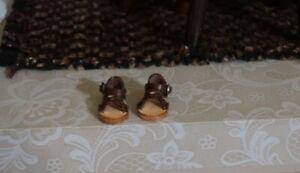 OB11 & Middie Blythe Brown Leather Sandals