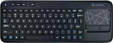 Logitech Wireless Touch Keyboard K400 Built-In Multi-Touch Touchpad Batteries