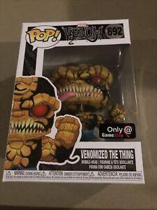 Funko Pop Marvel Venom #692 Venomized The Thing (GameStop Exclusive)