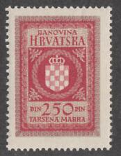 Croatia General Revenue Barefoot #23 MNH 250D top val 1940 cv $18
